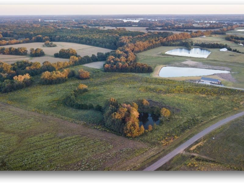 25 Acres In Madison County : Canton : Madison County : Mississippi