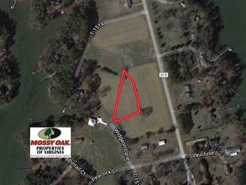 .93 Acre Building Lot For Sale in : Machipongo : Northampton County : Virginia