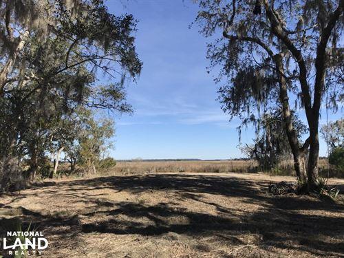Cassique Creek Marshfront Lot : Ridgeland : Jasper County : South Carolina