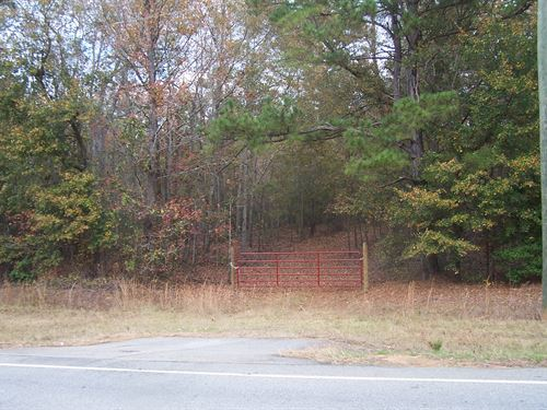 Wooded Acreage : Louisville : Jefferson County : Georgia