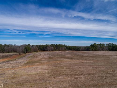 7.37 Acre Lot In Brownwood Estates : Madison : Morgan County : Georgia
