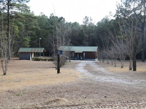 Camp With 2 Acres In Perry County : Brooklyn : Perry County : Mississippi