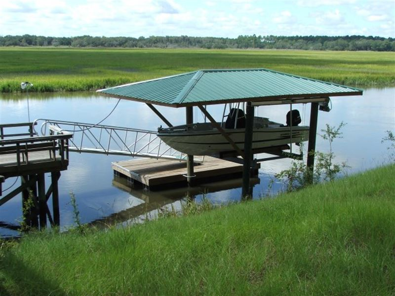 Deep Water, Home Julienton River : Townsend : McIntosh County : Georgia