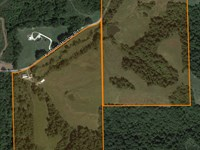 Beautiful Farm With Ponds And Home : Hardin : Calhoun County : Illinois