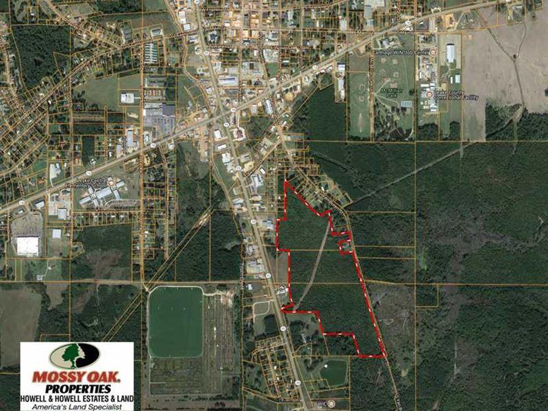 74 Acre Commercial, Developmen : Carthage : Leake County : Mississippi