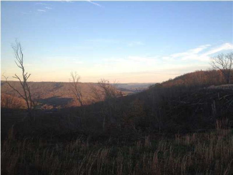 7.04+/- Acre Breathtaking Bluff Lot : Sewanee : Marion County : Tennessee