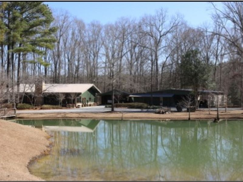 37.93 Acres With A Home In Newton : Newton : Newton County : Mississippi