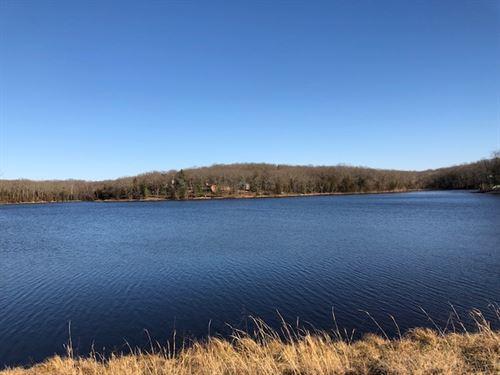 Lakefront Lot In Gated Estate : Hermann : Gasconade County : Missouri