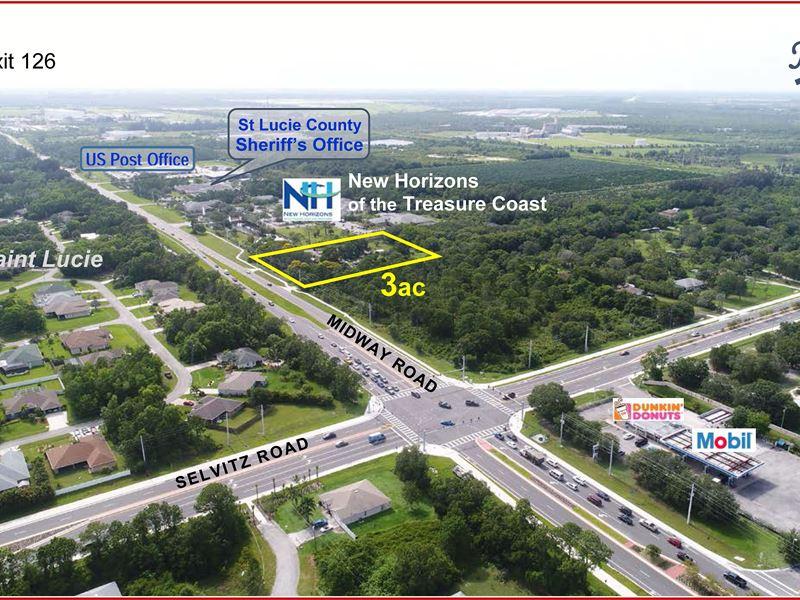 Commercial Development Site : Fort Pierce : Saint Lucie County : Florida