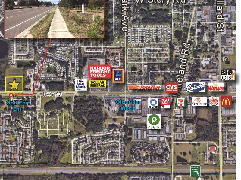 Winter garden commercial ac land for sale winter garden orange county florida for Land for sale in winter garden fl