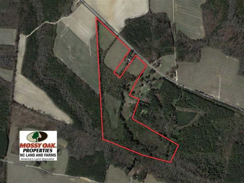 Under Contract, 33.51 Acres of Fa : Enfield : Halifax County : North Carolina