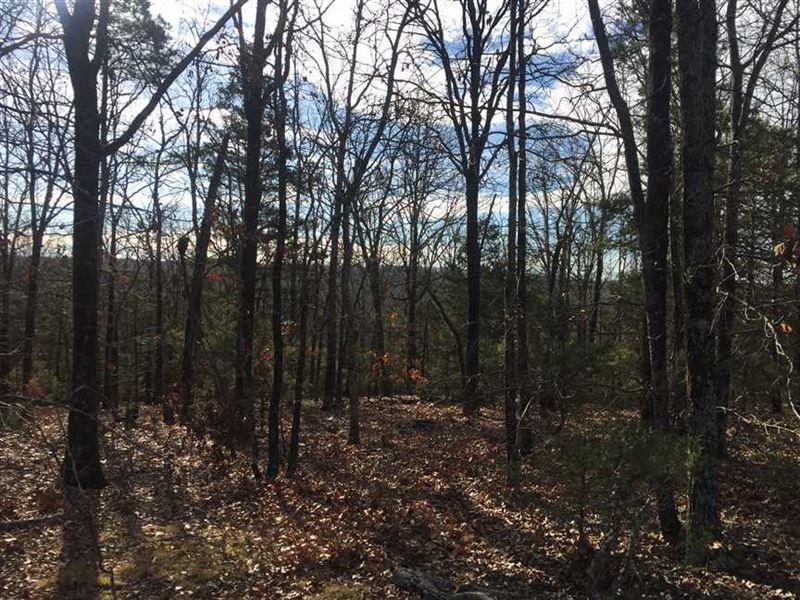 Beautiful 4.24 ac Lot in Cranford : Romance : White County : Arkansas