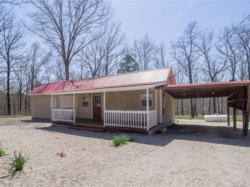 Home For Sale on 6 Acres in Carter : Ellsinore : Carter County : Missouri