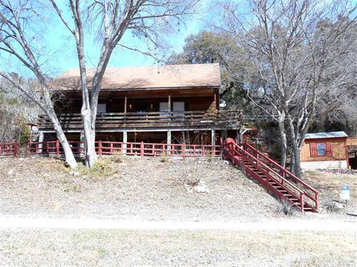 Colorado River House And Land - Sm : Lampasas : Texas