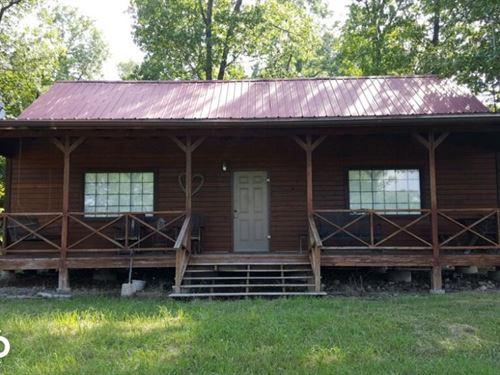 200 Acres & Cabin Adjoining Buff : Marble Falls : Newton County : Arkansas