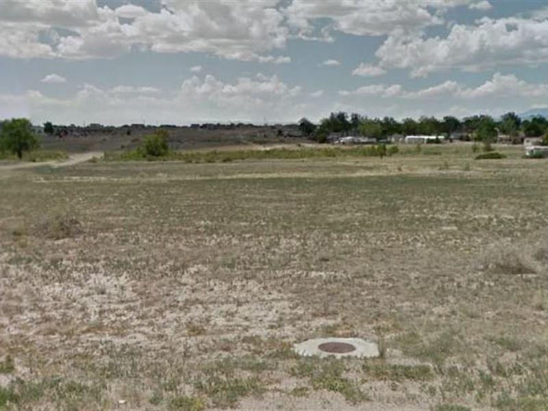 Pueblo County, Co $25,000 Neg : Pueblo West : Pueblo County : Colorado