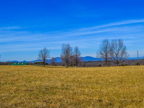 7.8 Acres With Mountain View : Campobello : Spartanburg County : South Carolina
