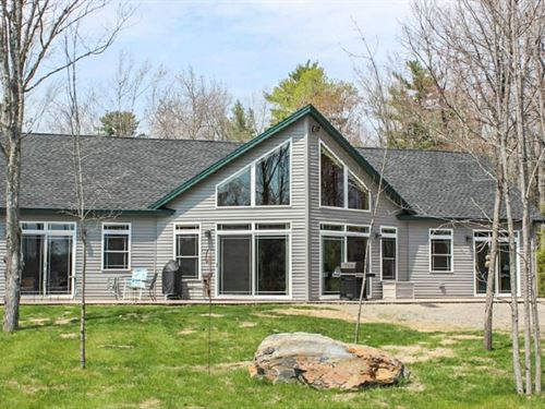 Davis Pond Contemporary : Eddington : Penobscot County : Maine