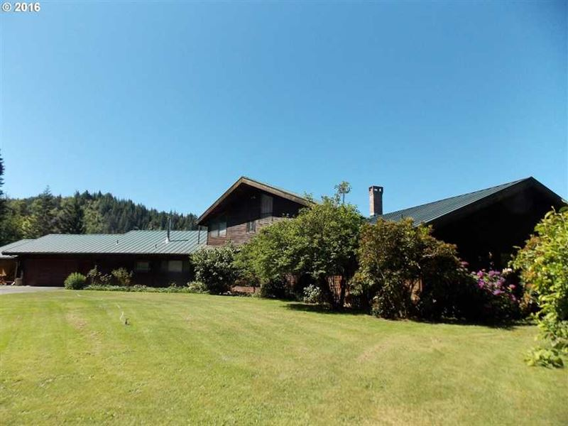 Liberty Ranch : Powers : Coos County : Oregon