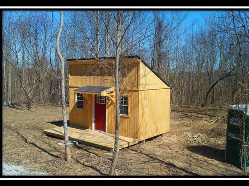 Wayne Forest Off Grid Retreat : Oak Hill : Jackson County : Ohio
