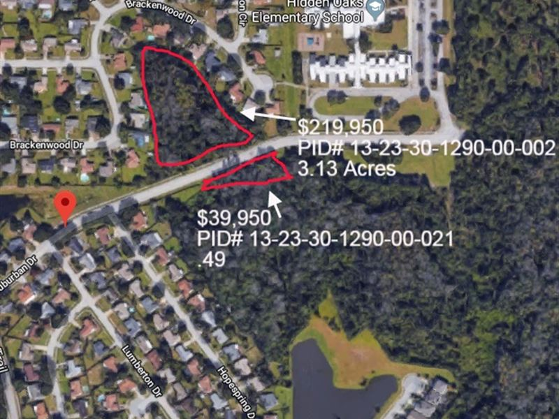 Acreage For Resident Or Townhomes : Orlando : Orange County : Florida