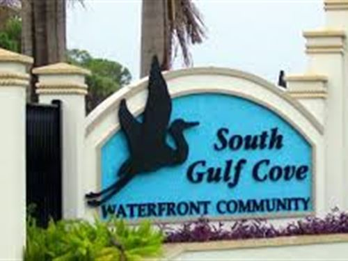 Waterfront Land For Sale, Golf Cove : Port Charlotte : Charlotte County : Florida