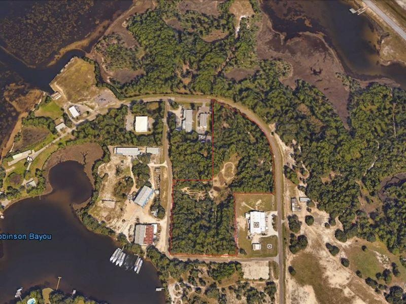 Views Of St. Andrew Bay & Robinson : Panama City : Bay County : Florida