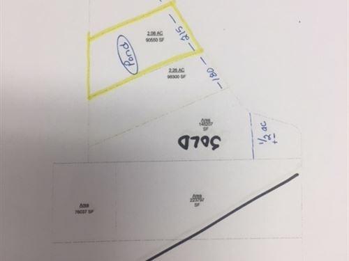 2+Acre Building Lot : Paris : Lamar County : Texas