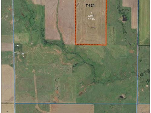 83 Ac Tillable Sw Of Argonia Ks : Argonia : Sumner County : Kansas