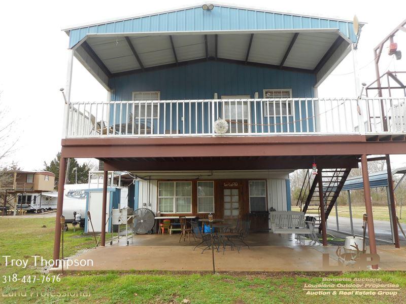 Waterfront Camp On Little River : Marksville : Avoyelles Parish : Louisiana
