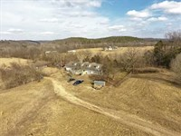 Home on 4-1/2 Acres With Access To : Pineville : McDonald County : Missouri