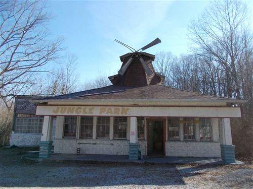 Jungle Park Historic Business Loca : Rockville : Parke County : Indiana