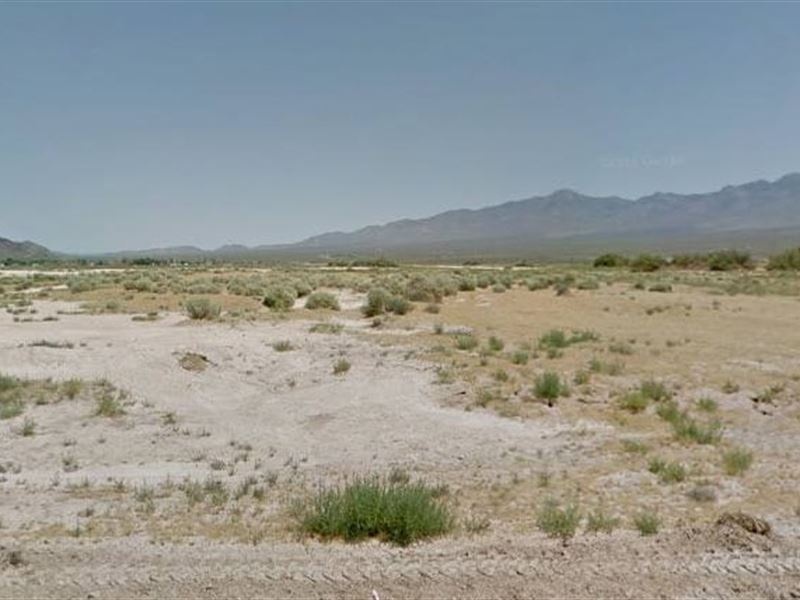 Nye County, Nv $18,000 Neg : Pahrump : Nye County : Nevada