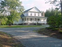 159 Acres W/ Custom Home In Emporia : Emporia : Southampton County : Virginia