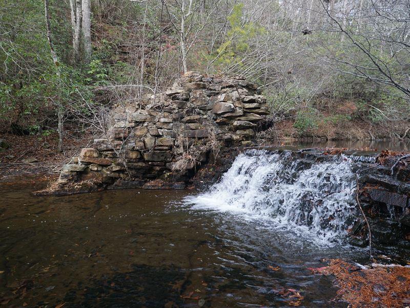 Lookout Mountain River Acreage : Menlo : Dade County : Georgia