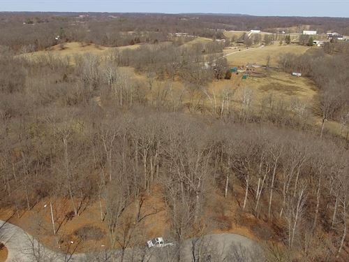 3 Ac Lot Brushy Rige Ct Lincoln Co : Winfield : Lincoln County : Missouri