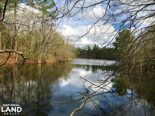Edgefield Hay Farm With Pond : Trenton : Edgefield County : South Carolina