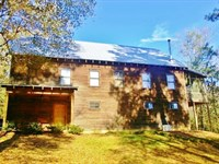 Cabin & 22 Acres Riverfront Lan : McComb : Pike County : Mississippi