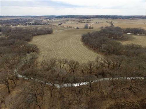 53 Acres of Bottom Ground Alon : Natoma : Osborne County : Kansas