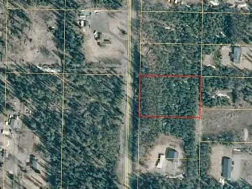 1.4 Acres With Driveway Already pu : Nikiski : Kenai Peninsula Borough : Alaska