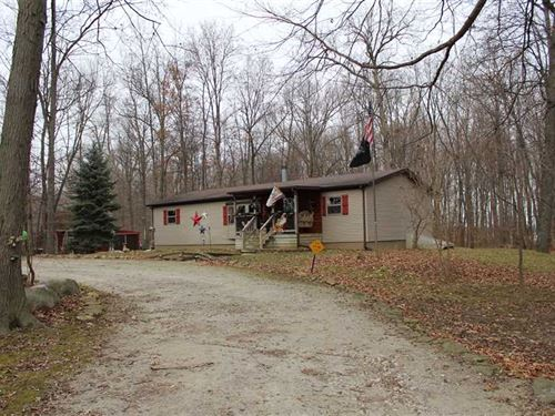 Country Living Home With 51 Recrea : Akron : Miami County : Indiana