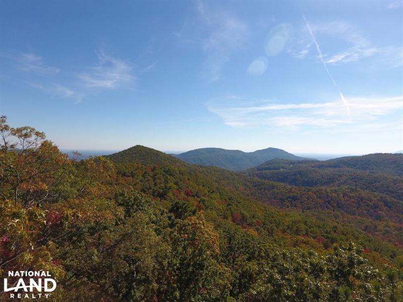 Blue Ridge Mountain Peaks And Priva : Black Mountain : Buncombe County : North Carolina