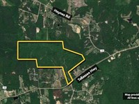 Land. Approx 174.15Ac Lot : Wetumpka : Montgomery County : Alabama