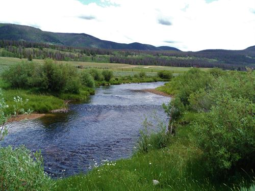 Laramie River Bend : Red Feather Lakes : Larimer County : Colorado