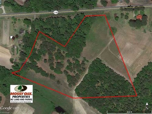Under Contract, 11 Acres of Resid : Grifton : Craven County : North Carolina