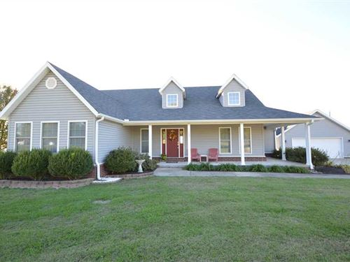 House And 5 Acres : Lowell : Benton County : Arkansas