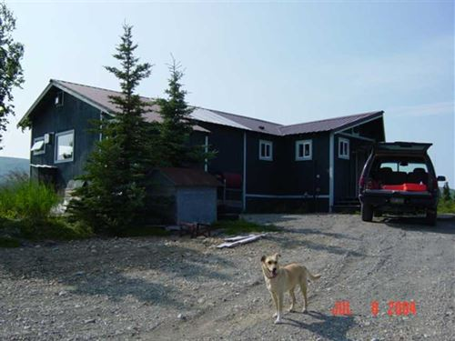 Illiamna Anyone Ranch Home on The : Newhalen : Lake And Peninsula Borough : Alaska