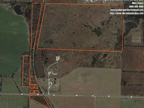 85.5 Acre Cattle Farm Close to Bol : Bolivar : Polk County : Missouri