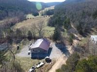 Cassville Home & 65 Acres : Cassville : Barry County : Missouri
