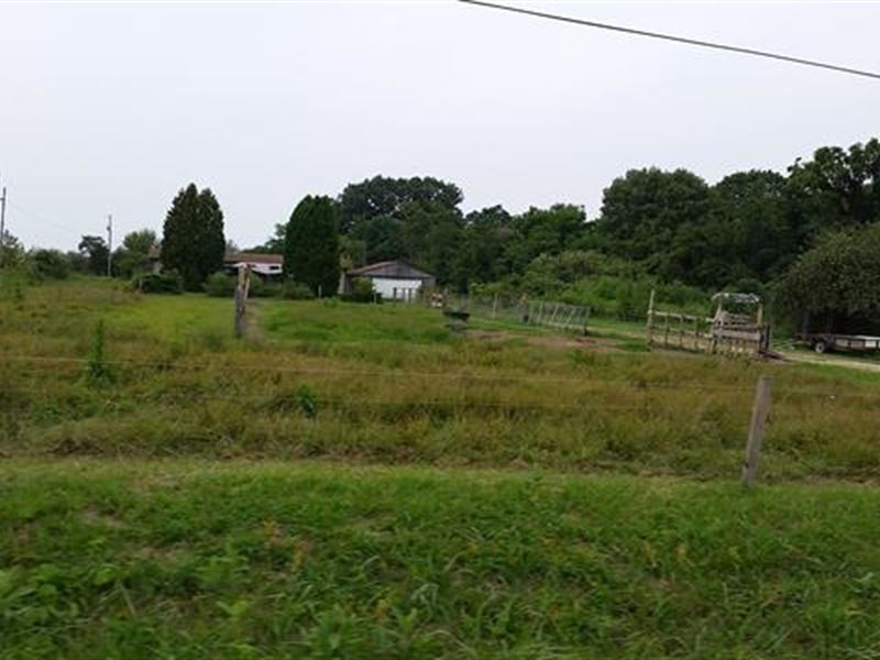 Land Only. Old Pole Barn And GA : Waverly : Pike County : Ohio